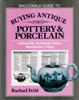 MacDonald Guide to Buying Antique Pottery & Porcelain