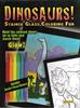 Dinosaurs - Stained Glass Coloring Fun